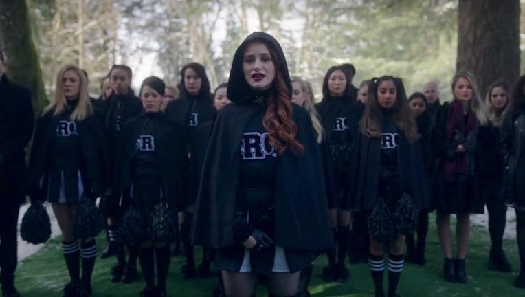 Cheryl funeral cheer squad Riverdale