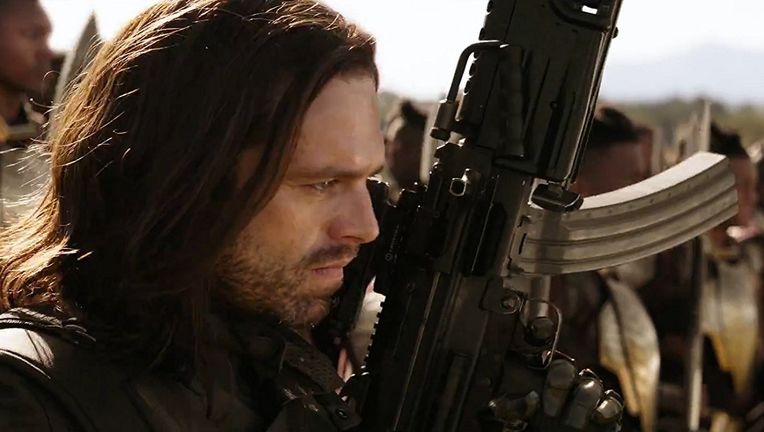 Sebastian Stan in Infinity War