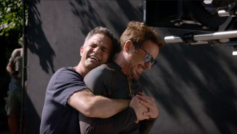 Avengers: Infinity War, Mark Ruffalo, Robert Downey Jr.