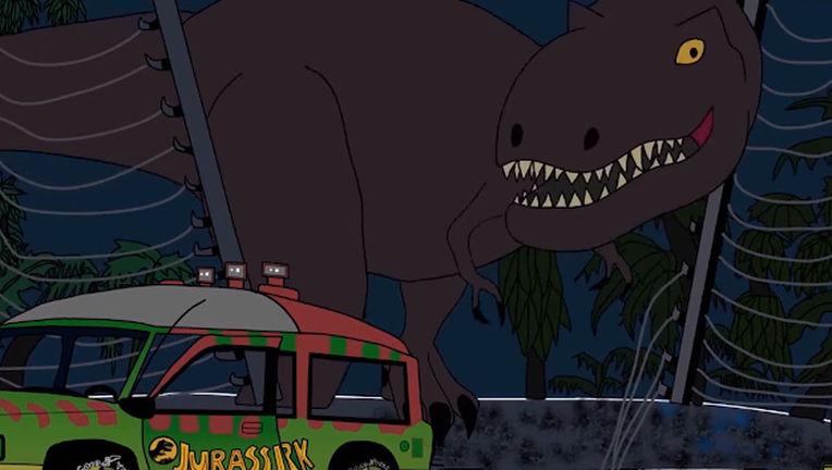 Jurassic Park 25th anniversary fan film screenshot