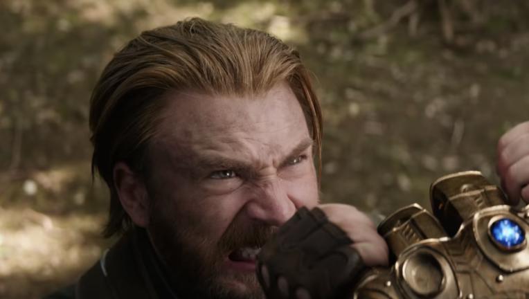 Steve Rogers, Captain America, Avengers: Infinity War