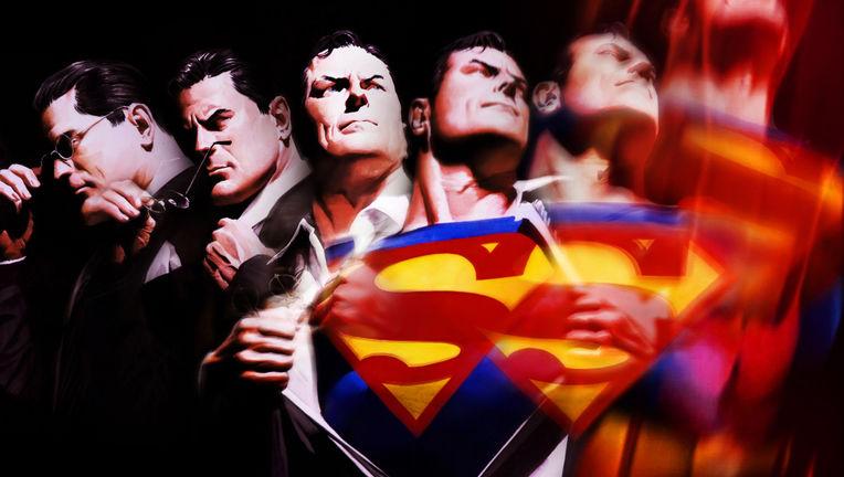 Superman Alex Ross Lenticular Cover