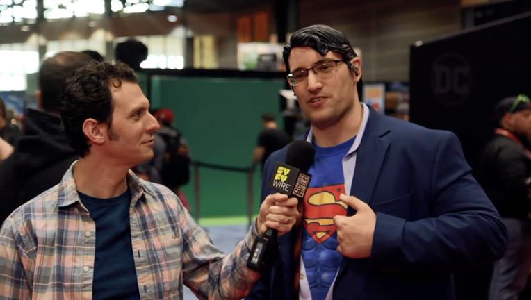Superman At 80 C2E2 SYFY WIRE Video Screengrab