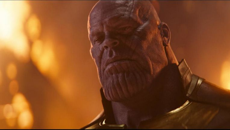 Thanos On Titan