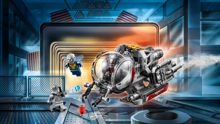 Ant-Man and the Wasp LEGO ship
