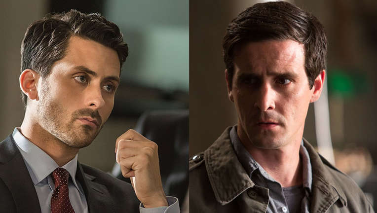 Andy Bean and James Ransone