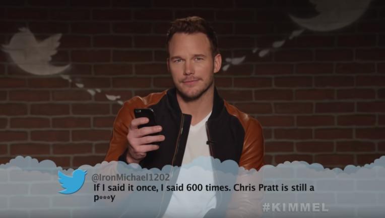 Avengers: Infinity War, Chris Pratt, Jimmy Kimmel Live