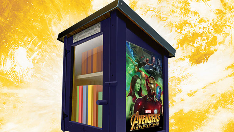 Avengers: Infinity War Pop Up Library