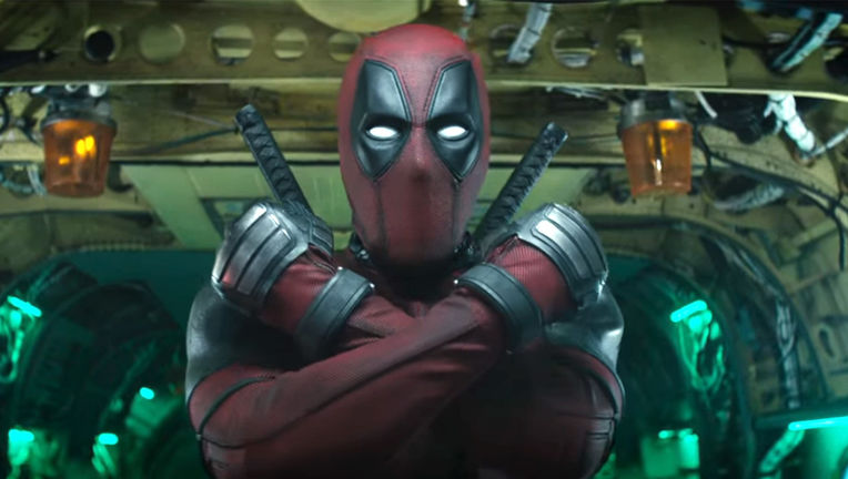 Deadpool 2- Arms crossed