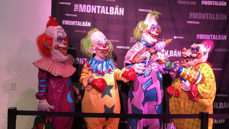 Killer Klowns from Outer Space circus event - the Klowns
