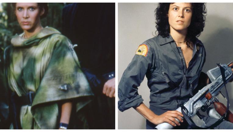 Leia and Ripley LOTW