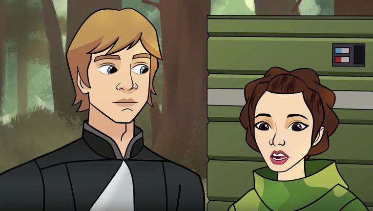 Luke and Leia Star Wars Forces of Destiny Season 2
