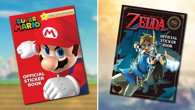 Nintendo Children's Book Covers