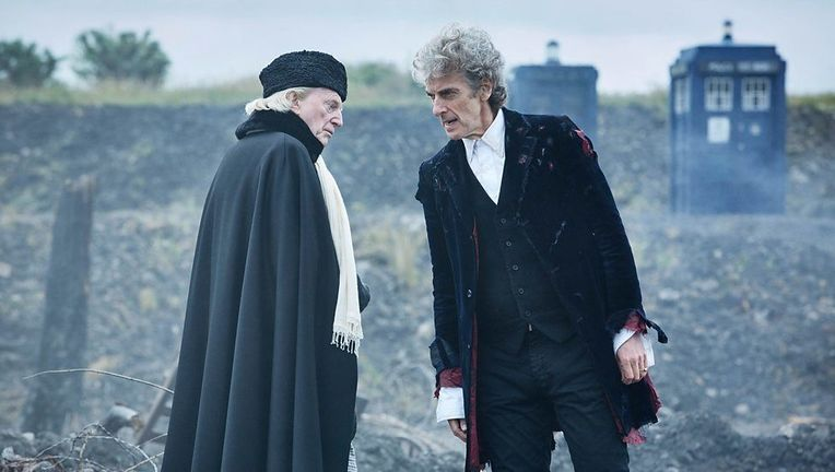 Doctor Who Peter Capaldi, David Bradley