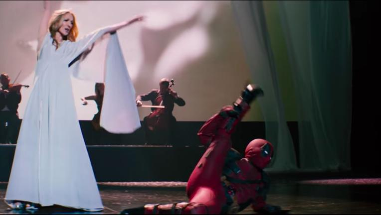Deadpool Celine Dion