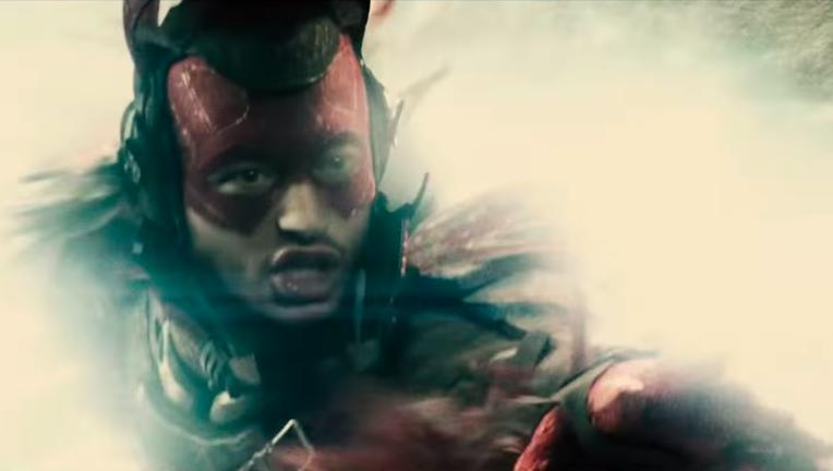 flash batman v superman