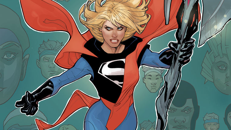Supergirl Terry Dodson cover