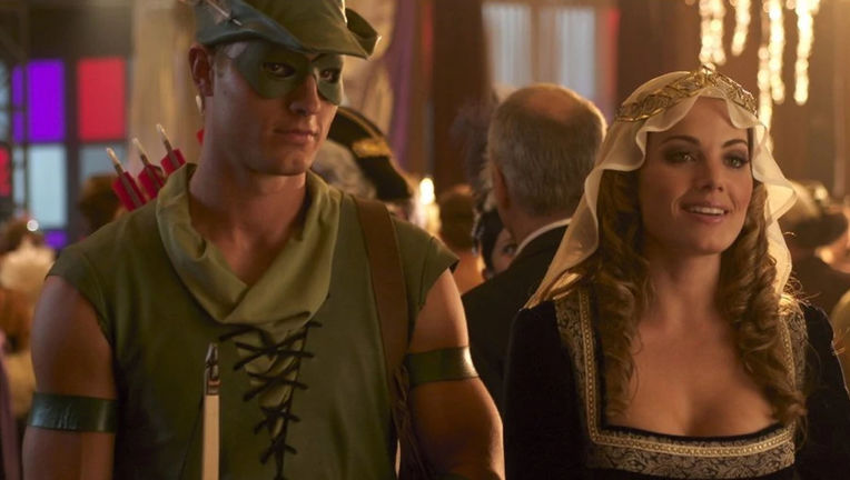 Smallville Green Arrow and Lois Lane