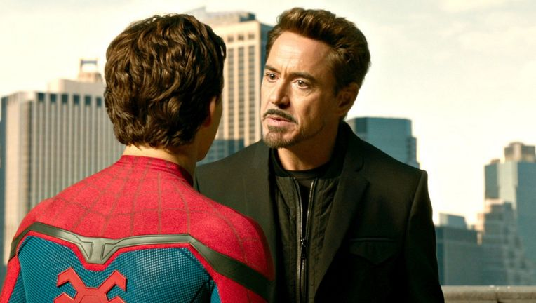 Robert Downey Jr. in Spider-Man: Homecoming