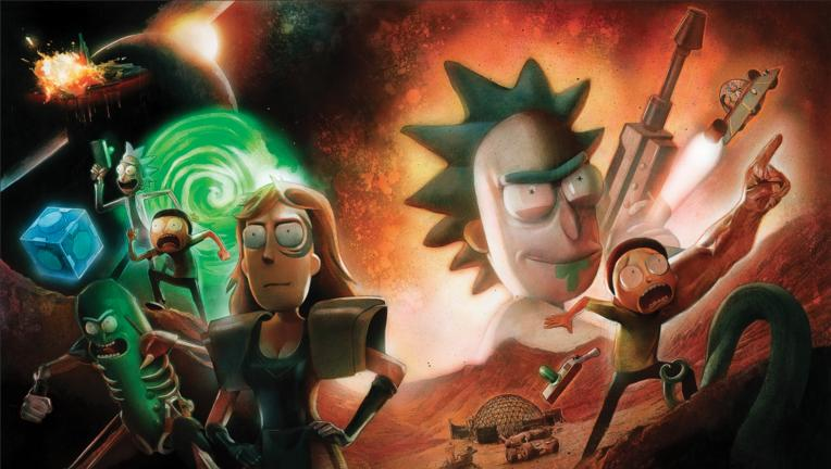 Rick and Morty vs  Dungeons & Dragons comic battle issue 2