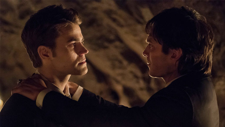 The Vampire Diaries series finale - Damon and Stefan