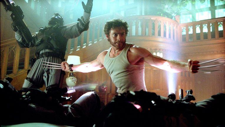 X2 Wolverine rage
