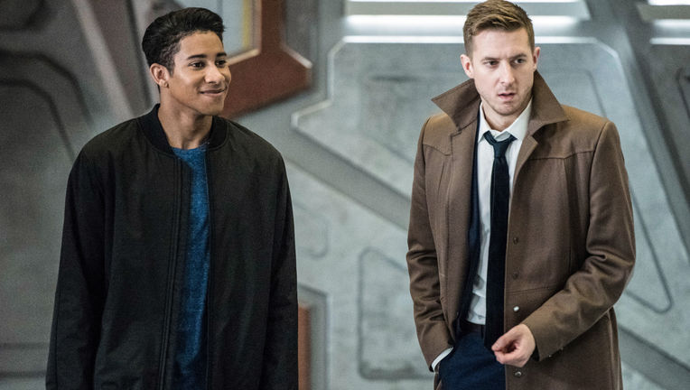 Legends of Tomorrow Wally, Rip