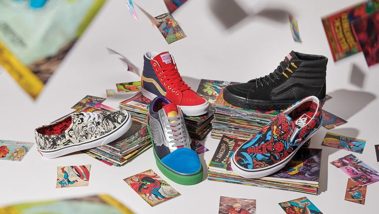 Vans x Marvel collection