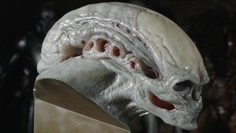 Studio ADI Alien Newborn bust from Alien: Resurrection