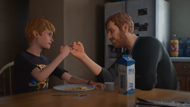 Captain Spirit - Chris and Father