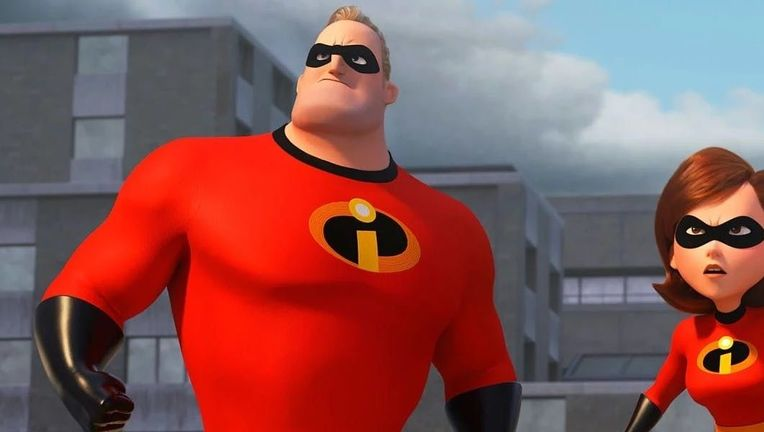 Incredibles 2 Bob and Helen