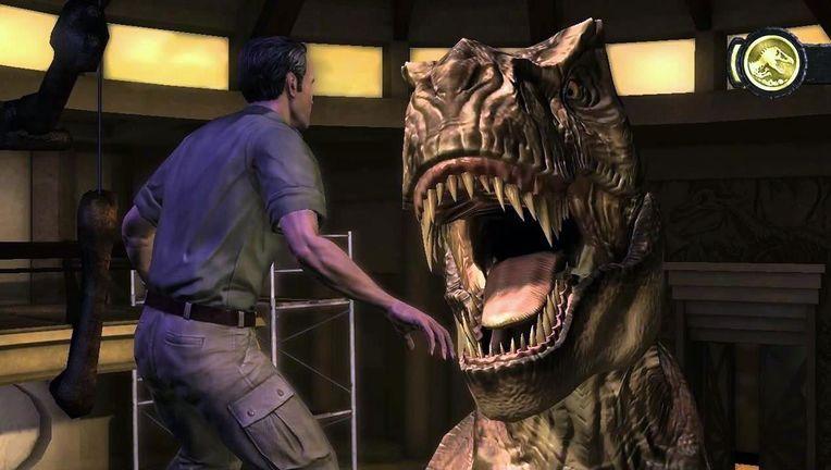 Jurassic Park video games hero