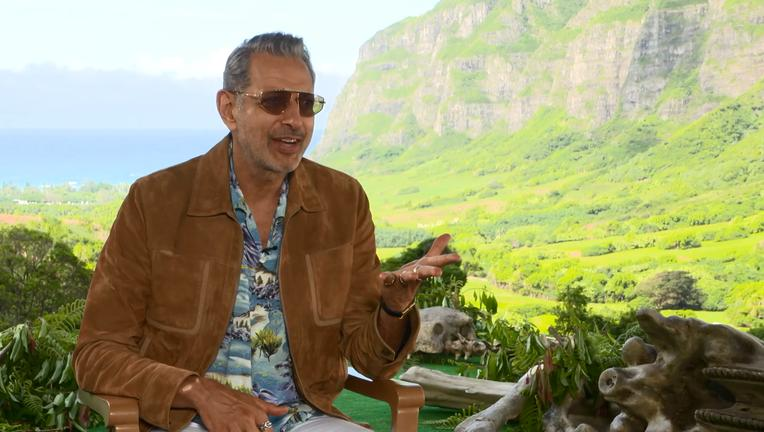 Jurassic World Fallen Kingdom Jeff Goldblum Interview SYFY WIRE Screengrab