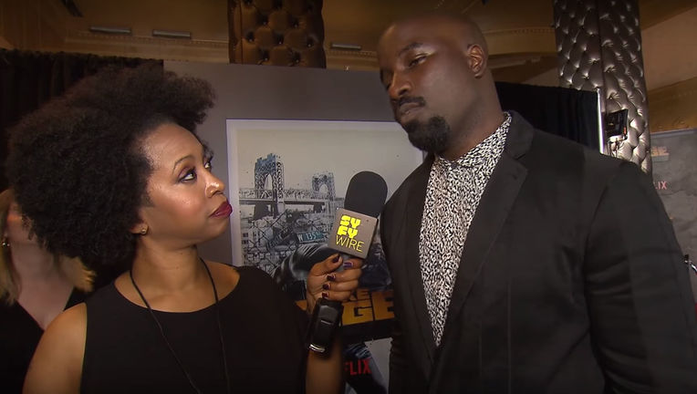 Luke Cage season 2 red carpet