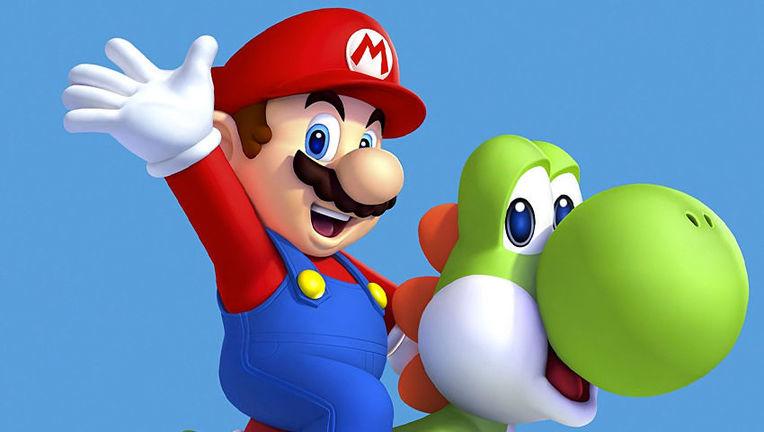 Mario Header