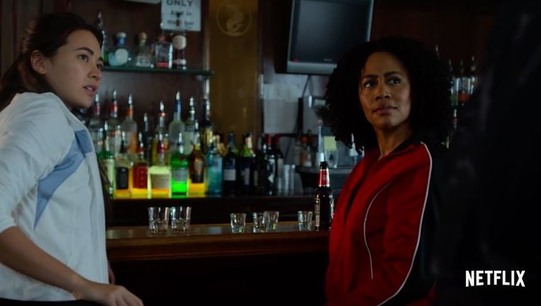 Misty Knight and Colleen Wing Luke Cage