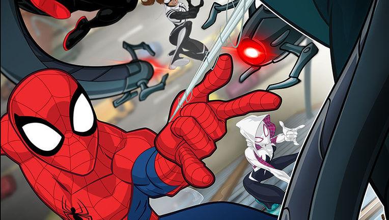 Marvel's Spider-Man Season 2 Key Art