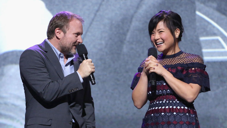 Rian Johnson Kelly Marie Tran Star Wars