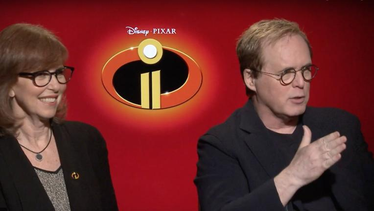 Incredibles 2 Brad Bird and Nicole Grindle