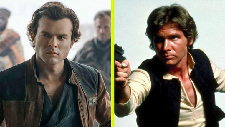 Solo Alden Ehrenreich , Harrison Ford, Who Won The Week SYFY WIRE Screengrab