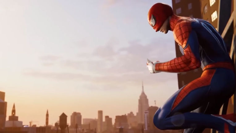 Spider-Man Playstation 4 E3 2018
