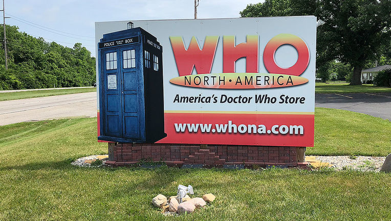 Geek Road Trip: Who North America sign