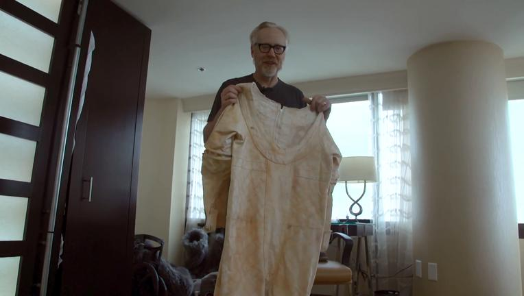 Adam Savage SDCC 2018 SYFY WIRE Screengrab 2