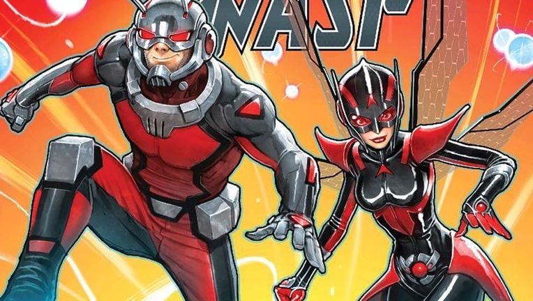 Ant-Man and the Wasp comic hero