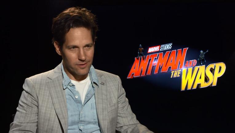 Ant Man And The Wasp Paul Rudd Interview SYFY WIRE Screengrab