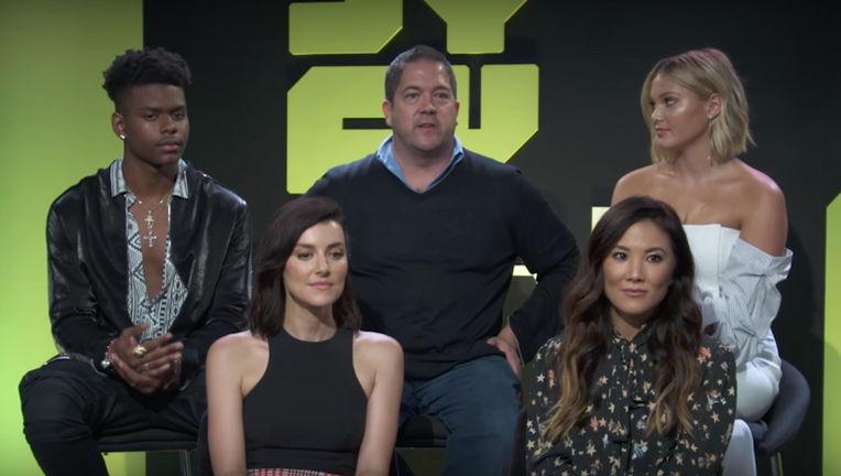 Cloak and Dagger cast Comic-Con