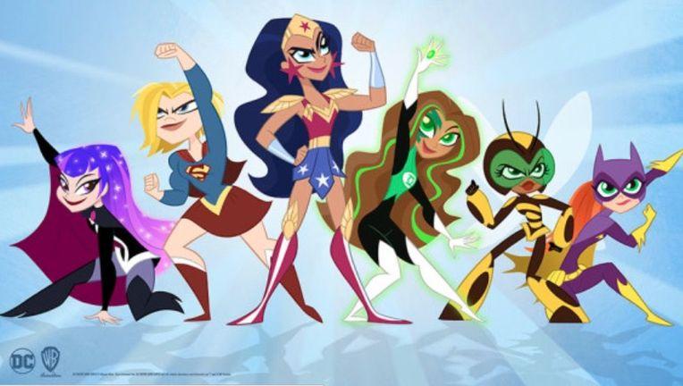 DC Super Hero Girls on Cartoon Network