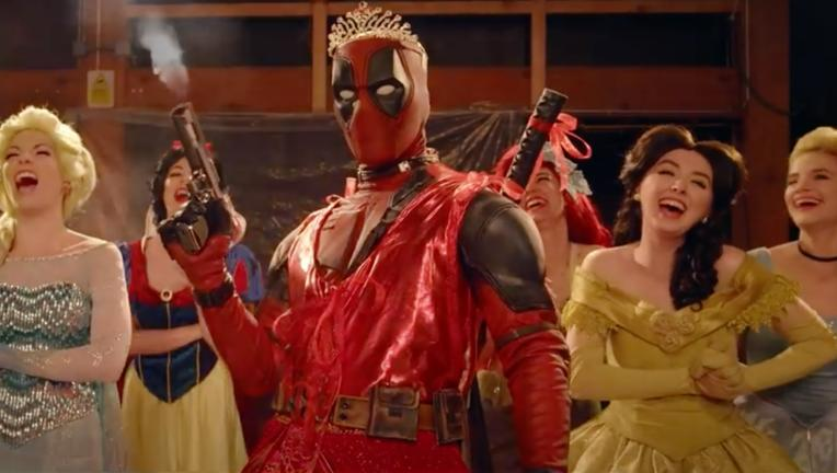 Deadpool 2 Disney parody