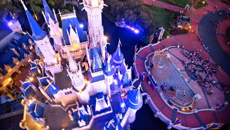 DisneyWorldCinderellaCastleAerial