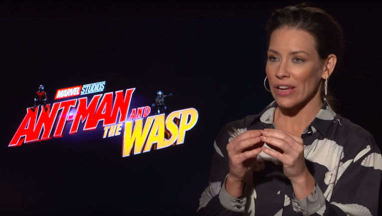 Evangeline Lilly on Ant-Man & The Wasp